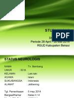 Studi Kasus stroke hemorragik