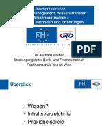 Pircher Wissensmanagement Wissenstransfer Wissensnetzwerke 100511