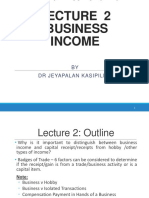 2016BTW3153 Lecture 2 - Income Tax Law (1)