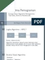 Algoritma Dan Pemograman Dasar II