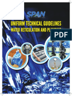 Uniform Technical Guidelines for Water Reticulation and Plumbing