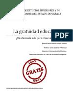La Gratuidad Educativa
