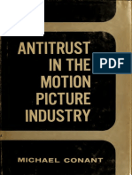Antitrust in Motion Picture Industry