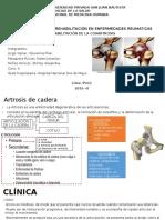 Rehabilitación Coxoartrosis