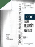 Gh. MAFTEI - Teoria Relativitatii Restranse Vol I