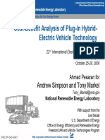 Cost-Benefit Analysis of Plug-In Hybrid- Electric Vehicle Technology