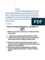 The Tip of Indian Banking Part i to Part 26My Scribd