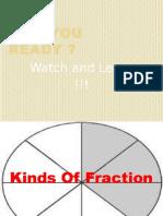 Kinds of Fraction
