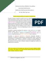 Pautas Para Elaborar Marco Conceptual UNFV