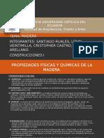 Madera Presentacion
