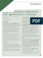 Clyde & Co Tanzania, Banking Briefing - October 2016