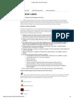 Container Labels - EHS _ UW-Superior