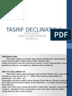 Tasrif Declinatio II