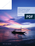 IFRS Practice Issues Transfer of Assets From Customers