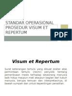 Standar Operasional Prosedur Visum Et Repertum