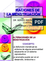 alteraciones Menstruacion