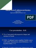 Small bowel adenocarcinoma - DBaril.ppt