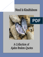 All You Need is Kindfulness - A Collection of Ajahn Brahm Quotes