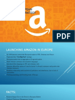 Amazon's European Distribution Strategy
