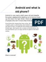 Android Development- tech notes