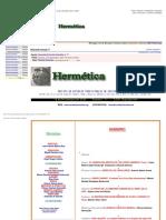 Revista Hermética Numero 11 - Noviembre 04