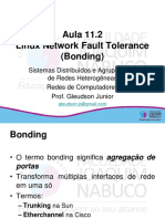 Aula 11.2Linux Network Fault Tolerance (Bonding)