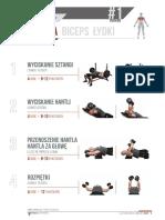 Plan Treningowy Solid Mass Trening 1 Klatka Biceps Łydki