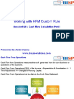 HFM CashFlow Calculation