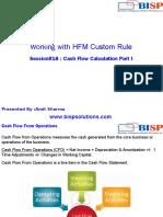 HFM CashFlow Calculation
