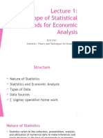 Lecture 1 ECN 2331 (Scope of Statistical Methods for Economic Analysis)-1