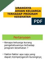 Pengetahuan Program Kes