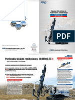 Catalogo Perforadora Hidraulica Orugas Hcr1500ed Furukawua Frd