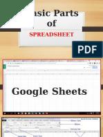 Spreadsheet (Google Sheets)