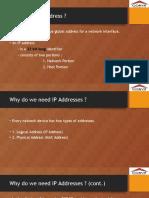 Fundamentals of IP Addressing