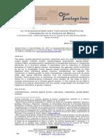La Interseccionalidad como Instrumento Analítico de Interpelación en la Violencia de Género