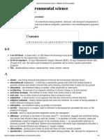 Glossary of Environmental Science