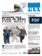 Asbury Park Press front page Wednesday, Oct. 12 2016