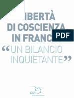 Libertà di coscienza in Francia un bilancio inquietante