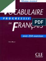 8Vocabulaire Progressif Du Francais Avance(1)