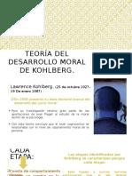 Teoría Del Desarrollo Moral de Kohlberg
