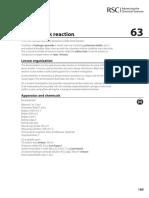 Cfns Experiment 63 - Iodine Clock Reaction