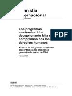 Analisis Programas Electorales Dchos Humanos