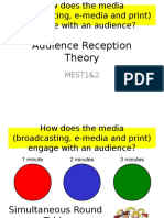 Audience Theory Part 1 Effects Theory