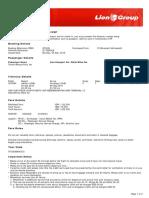 Lion Air ETicket (OTIZZJ) - Thirafi