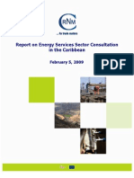CRNM - Report on Energy Services Sector Consultation