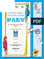 PROBLEMAS PAEV PARA SEGUNDO DE PRIMARIA