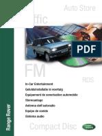 Range Rover p38 My00 - Equipo de Sonido-