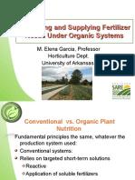9 Organic Fertilizers