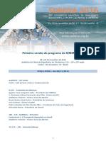 Programa Congresso 1ª Versão - SOBENA 2016