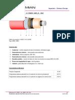 Data Sheet 35 KV Cable